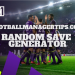 Random Football Manager Save Generator